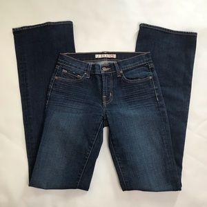 J Brand The Boot Leg Women Dark Vint Blue Jeans 25